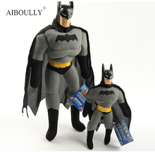 40cm Movie Batman Superheros Plush Toys Soft Stuffed Dolls Kids Collectible Christmas Gifts Color Optional(China)