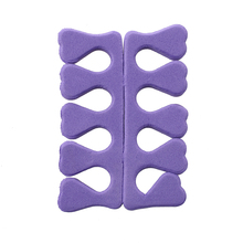 JEYL Flexible Foam EVA toe separator toe spacer for Manicure Pedicure(China)
