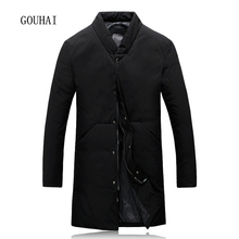 Winter Jacket Mens White Duck Jacket Men Coat 4XL 5XL Long Jacket Mens Feather Jacket Male Parka Homme Top Quality