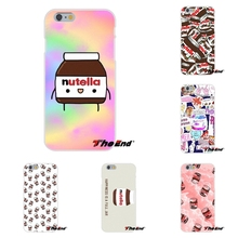 For Huawei G7 G8 P7 P8 P9 Lite Honor 4C Mate 7 8 Y5II Another Nutella wallpaper kawaii cute Soft Silicone Cell Phone Case Cover
