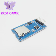 Micro SD Card & SDHC(high-speed card) Mini TF Card Reader Module Adapter SPI Interfaces with Level Converter Chip(China)
