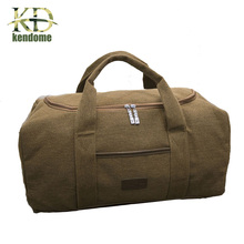 Buy K&D Canvas Multifunctional Shoulder Bag Large Capacity Men Women Outdoor Travel Sports Bag Training Gym Fitness Handbag for $16.68 in AliExpress store