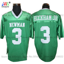 Cheap American Football Jerseys Odell Beckham Jr. 3 Isidore Newman High School Throwback jerseys Retro Stitched Shirt for Mens(China)