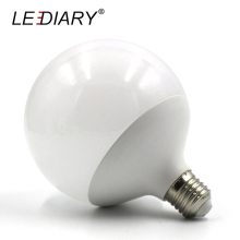 LEDIARY Hot Design G120 E27 LED Bulb Real 20w Power D120mm*H155mm Global Light 200V-240V Ball Light for Chandelier Pendant Lamp
