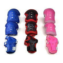 6pcs/set Kids Roller Skating Protection Knee Elbow Wrist Pad Sport Protecton Safety Guard Gear Roller Skate Protection Gear(China)