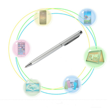 Hot Sale Fine Point Stylus Capacitive Touch Microfiber Stylus Pen Touch For ipad for iphone(China)