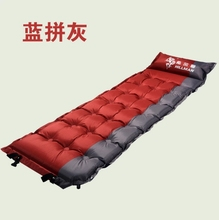 Outdoor Camping Sleeping Mat , Inflatable sleeping pad, Thicken Single person Sleeping Mat waterproof,foldable 180*61cm 1.6kg(China)