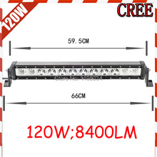 Free UPS ship!1pcs/set,120W 8400LM,10~30V,6500K,LED working bar,Boat,Bridge,Truck,SUV Offroad car,black!20W 160W 40W
