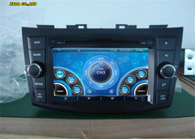 7inch Car DVD Radio for Suzuki Swift 2011- Car Multimedia With Stereo Audio/Bluetooth/GPS/maps