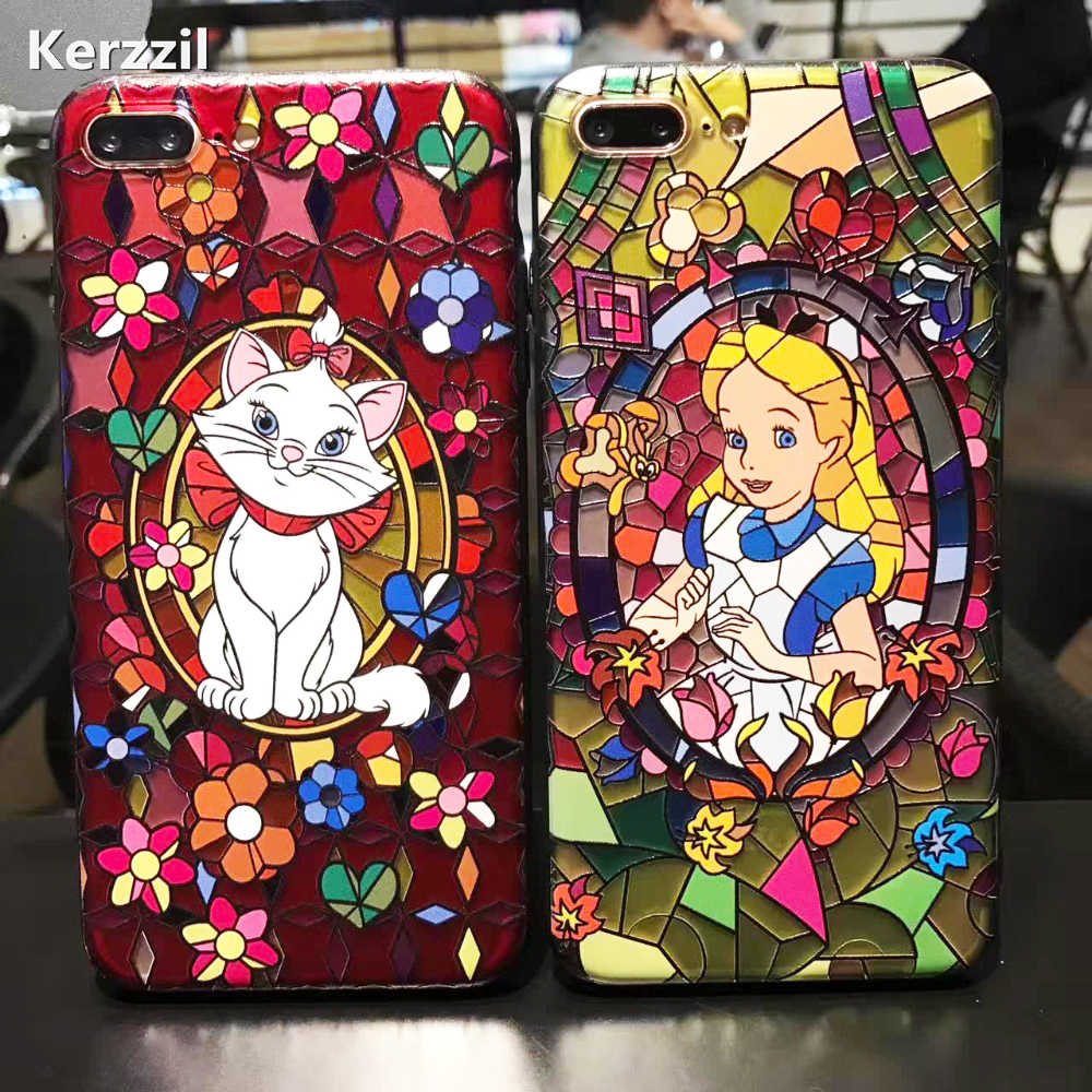 Disney s Cinderella Stained Glass S8 3D iphone case