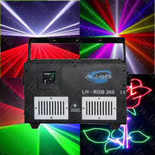 4W Full color Animations Laser lighting system with 45K Scanner dj equipment for entertainment(China)