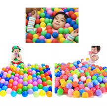 Colorful Ball Soft Plastic Ocean Ball Funny Baby Kid Swim Pit Toy Water Pool Ocean Wave Ball stress air ball outdoor fun sports(China)