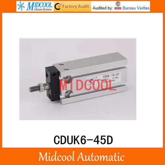 Multi-position free installation of the cylinder CDUK6-45D bore 6mm stroke 45mm<br>