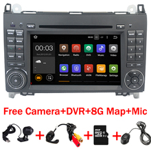 Quad Core Car PC Android 7.1 for Mercedes/Benz Vito Viano Sprinter Crafter Bluetooth Radio WIFI 3G DVR SWcontrol USB SD Free Map(China)