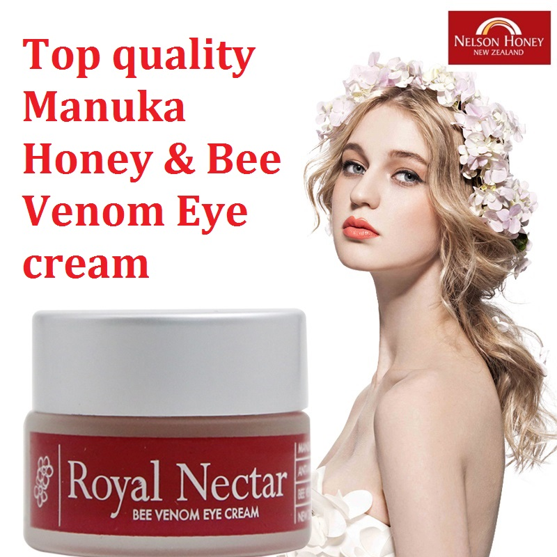 100% NewZealand Royal Nectar Manuka Honey Bee Benom Eye cream Anti wrinkles Anti Aging Eye Care Cream Age defying eye treatment<br>