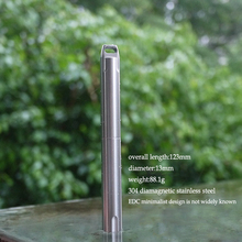 EDC outdoor gadget outdoor attack pen series 304 stainless steel high strength survival equipment Defense Pen(China)