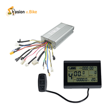 Pasion Ebike 48V  18 MOSFET Controller and LCD Display 1500W  2000W Brushless DC Sine Wave Electric Bicycle Controller