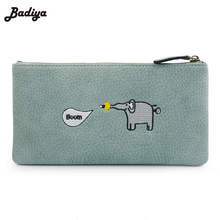 Zipper Wallet Women Cartoon Print Bag Purse PU Wallets For Ladies Card Holders  Women's Purses For Phone 2017 Feminina Carteira