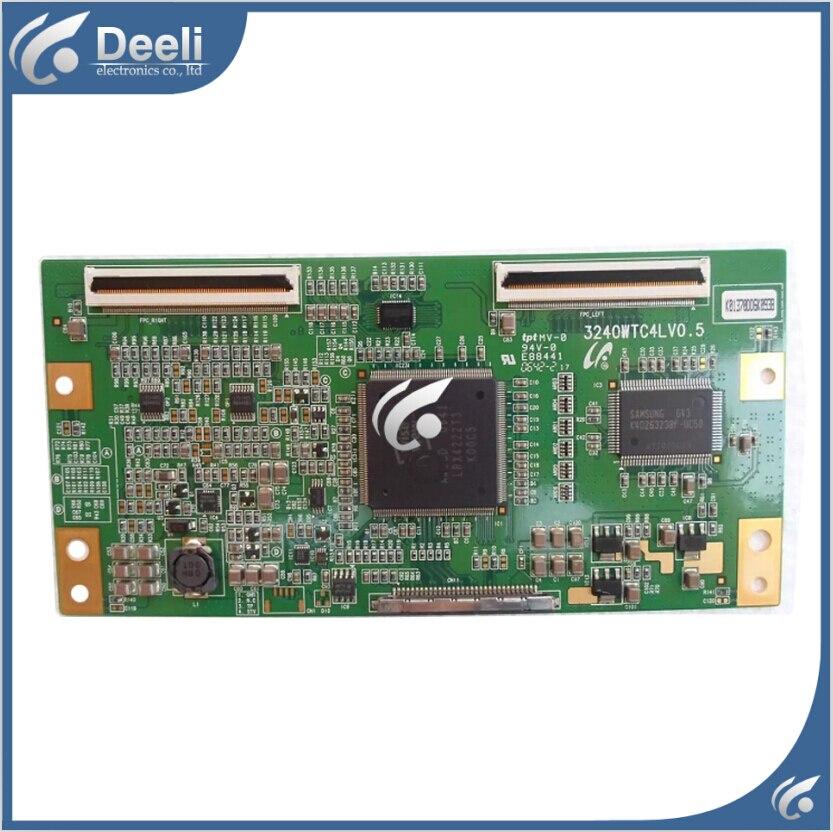 Working good 95% new original for Logic board LTA400WT-L11 KLV-40T200A LH2L01 3240WTC4LV0.5 T-CON board<br>