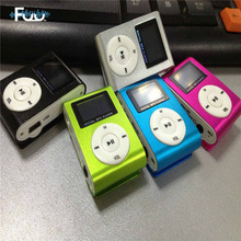 Clip LCD Screen Mini MP3 Player USB Support Micro TF/SD Card Metal Media Reproductor De Sports Digital Mp3 Music Player SP083