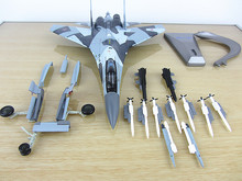New 1/72 Scale Plane Model Toys Sukhoi Su-35 Flanker-E/Super Flanker Fighter Diecast Metal Plane Model Toy For Collection
