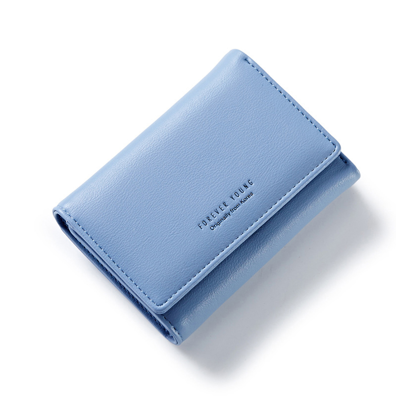 2017 Elegant Women Leather Wallet Fashion Lady Portable Multifunction Short Solid Color Change Purse Hot Female Clutch Carteras(China (Mainland))