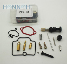 32 MM Universel 24 26 28 30 32 34 MM PWK KEIHIN OKO KOSO Moto Carburateur Carburador Kit De Réparation De Rechange Jets Ensembles Un Pack(China)