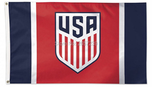 USA Soccer 2016 Flag 3x5FT banner 100D 150X90CM Polyester brass grommets custom66, Free Shipping(China)