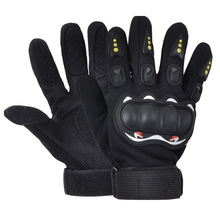 1 Pair Professional Skateboard Gloves Without Flint Slider Women Man Adult Longboard Downhill Ski Race Full Finger Gloves(China)