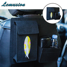 1Pc car seat back storage bag Hanging Multifunction collection for BMW e46 e39 e90 e60 Jeep renegade Chevrolet cruze accessories