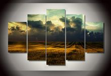 unframed Printed Catcher Scenery 5 pieces Group Painting room decor print poster picture canvas Free shipping(China)