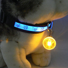 Pet LED Dog Collar Night Safety LED Flashing Glow LED Pet Supplies Dog Cat Collar Products for Dogs Collars