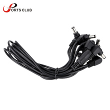 Caline 8 Ways Daisy Chain Multi-interface Connecting 1 to 8 Cable Cord Copper Wire for Guitar Effect Power Supply Adapter