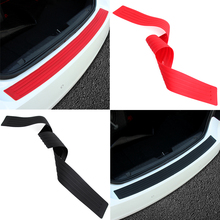 Car trunk bumper trim rear guard plate modified protective strip For Suzuki Jimmy Swift S-CROSS(China)