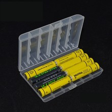 Plastic Box Battery Storage Case Organizer Batteries Container Box Case Home Portable Handy Tidy Dual Purpose Safe