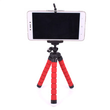 Mobile phone camera stand for iphone tablet universal flexible holder octopus triangle phone stent support Mount Monopod