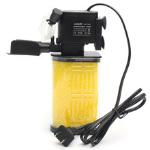 13W 800L/H Submersible Acrylic Filter Sponge Water Internal Filter Pump For Aquarium Fish Tank Pond 75 x 55 x 185 mm