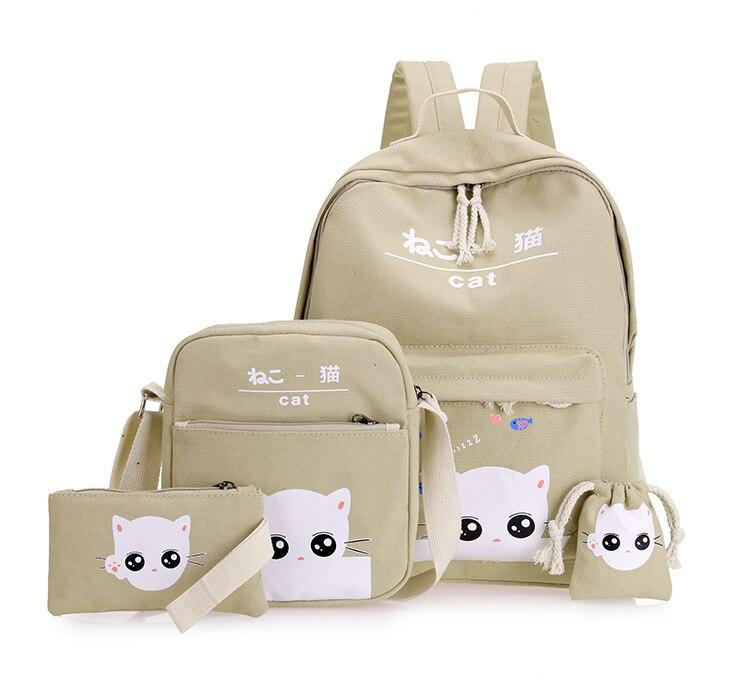 حقيبة الظهر للأطفال 4 قطع 4