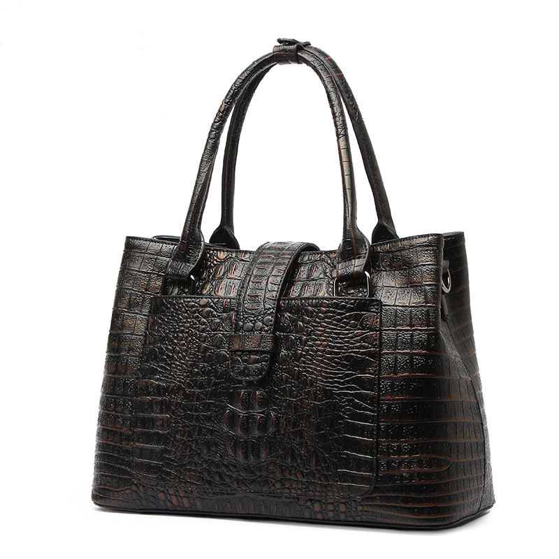 Female Crossbody Bag For Women Messenger Bag Genuine Leather Shoulder Handbag Women Bag Famous Brand Lady Tote Crocodile<br>