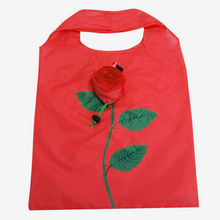 Azerin Fashion Rose Flowers Reusable Folding Shopping Bag Tote Eco Storage Bags Free Shipping #187