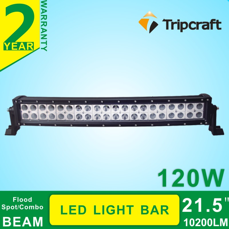 21.5inch 120W Curved LED Light Bar Drivng Light Bar Spot Flood Combo for Truck SUV Tractor Boat 4WD save on 12V 24V Offroad ATV<br><br>Aliexpress