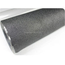 CDG-11 black color Fashion color flex glitter pu heat transfer vinyl for whole roll