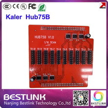 kaler hub75b adapter board convert 50pin port to hub75 port for kaler led control card rgb display module led display screen