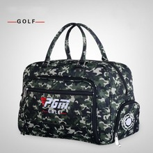 CRESTGOLF New Arrival Top Quality Camouflage Golf Clothing Bags Shoes Bags Golf Travel Double Hand Bags(China)