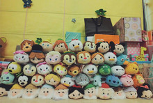 Tsum Tsum Mini Plush doll Animal and Movie Character Dolls Toys Princess Toy Cartoon Screen Cleaner Toy kids gift
