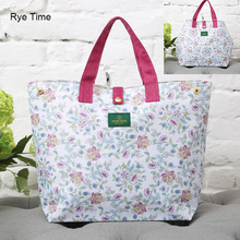 2017 new high quality big capacity shopping tote bags waterproof light foldable supper market shop handbag travel portable bags