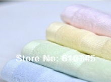 Free shipping!wholesale100%bamboo fiber towel 30*66CM ,5pces/lot(China)