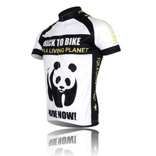 New Panda Cycling Jersey Bike Short Sleeve Top Shirt Clothing Riding Jacket Bicycle Sportwear ciclismo Jersey S-4XL CC0107
