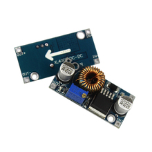 Free Shipping 5A Max DC-DC XL4005 Step Down Adjustable Power Supply Module LED Lithium Charger Board(China)