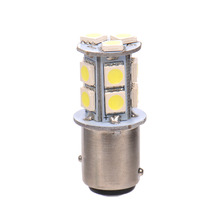 1x 1157 / BAY15D / P21/5W 13SMD Dual Filament Stop Car Tail Light Bulb Globe 12v(China)